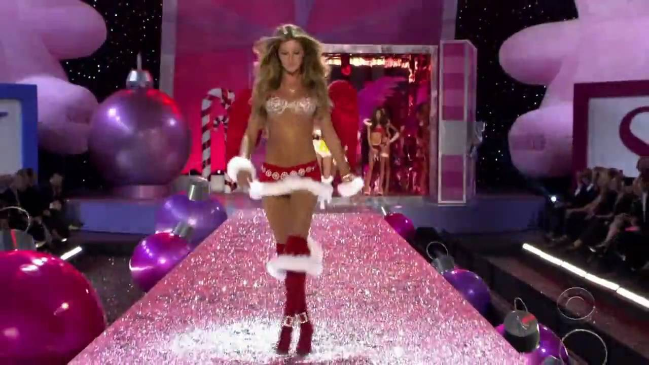 gisele bundchen - victoria s secret runway compilation