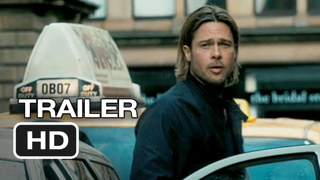 брат пит - world war z -trailer -