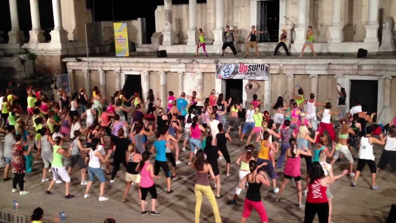zumba with hermann melo -  plovdiv 2012