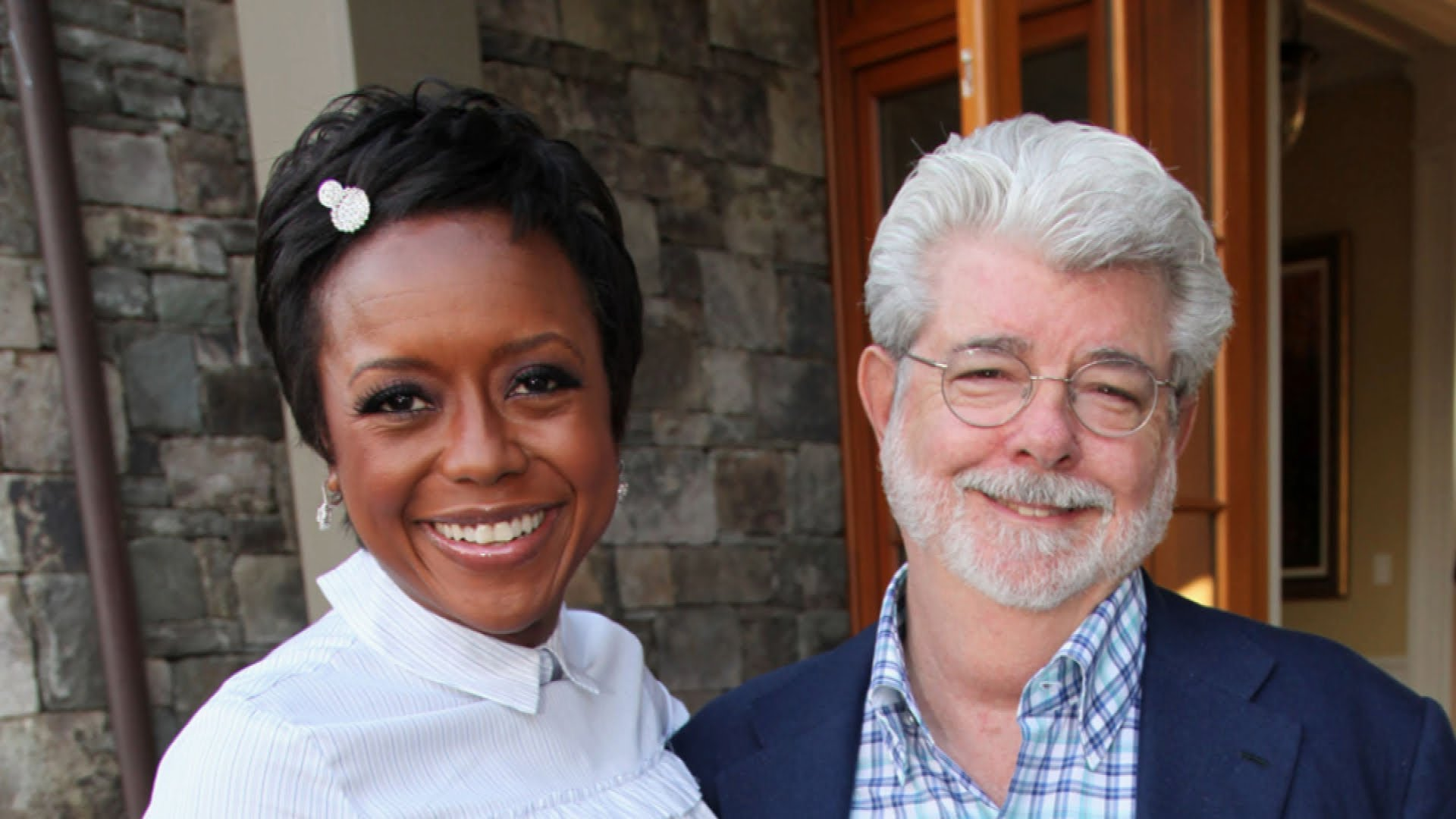 george lucas and wife welcome baby