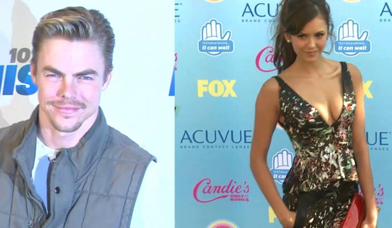 nina dobrev and derek hough break up-