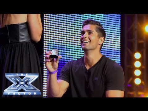 david and lauren -  the x factor usa 2013